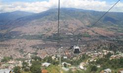 Medellin urban cable transportation